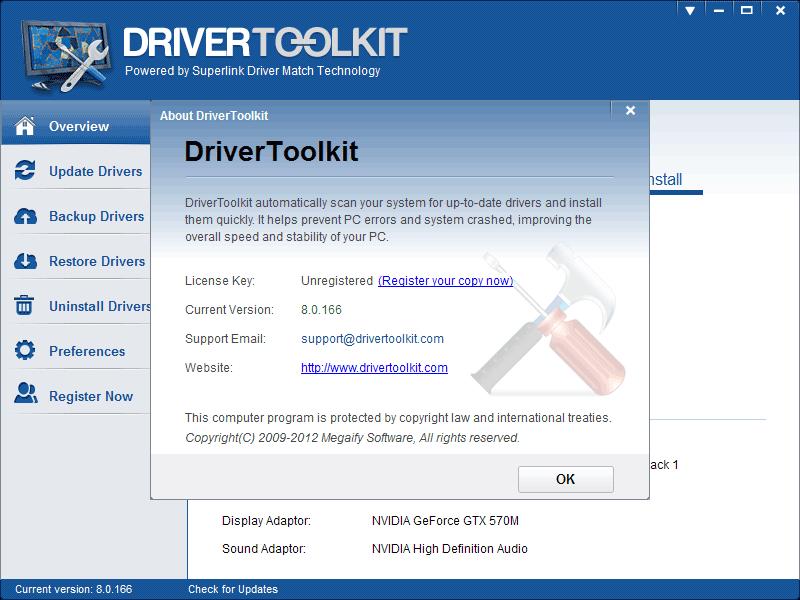 DriverToolkit - ScreenShots